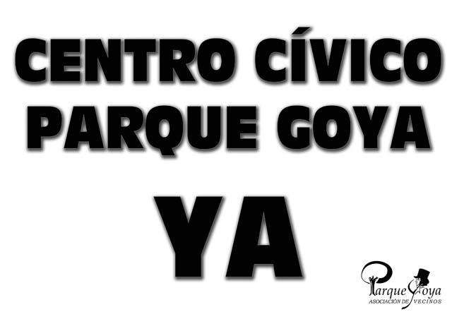 Parque Goya aspira a ver en marcha su Centro Cívico antes de 2020