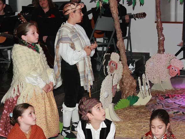 Parque Goya estrena su primer belén musical