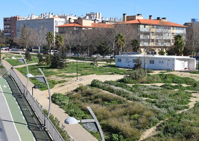 La Asociación Vecinal Parque Goya ya consume su propia energía verde